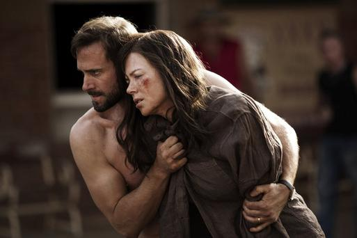 A Familiar unease in the Outback: Joseph Fiennes and Nicole Kidman star in Australian thriller Strangerland.