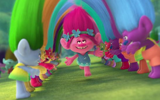 Troll dolls have been rebooted for DreamWorks's latest animated film