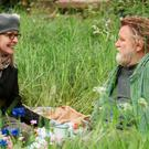 Diane Keaton and Brendan Gleeson in a scene from Hampstead