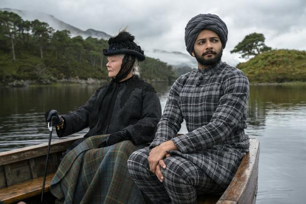 Forbidden love: Judi Dench and Ali Fazal. Photo: Focus Features LLC