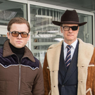 Taron Egerton and Colin Firth star in the tounge-in-cheek spy movie