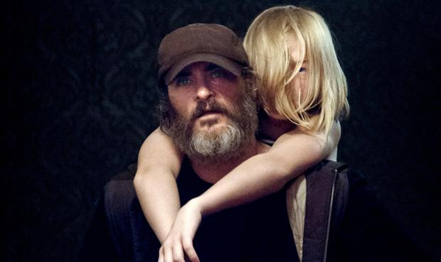 Joaquin Phoenix stars in 'You Were Never really Here' as the rescuer of kidnapped children