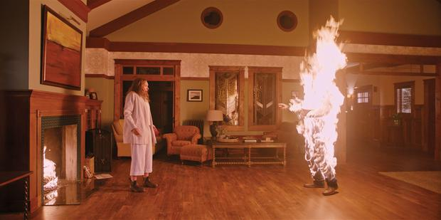 Toni Collette and a bad case of goosebumps in 'Hereditary'