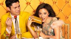 Henry Golding and Constance Wu in 'Crazy Rich Asians'