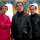 Emma Thompson, Rowan Atkinson and Ben Miller in Johnny English 3