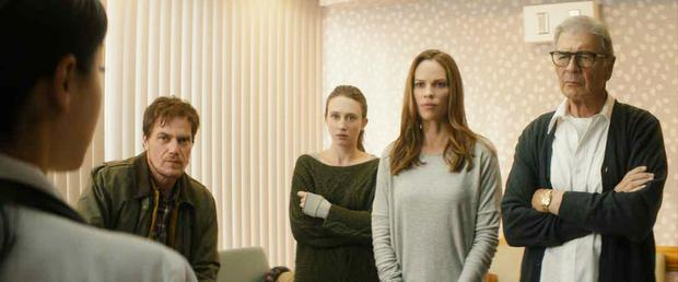 Taissa Farmiga, Hilary Swank and Robert Forster in 'What They Had'
