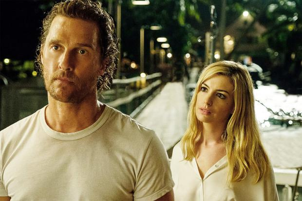 Matthew McConaughey and Anne Hathaway star in 'Serenity',which could well turn out to be the worst movie of the year
