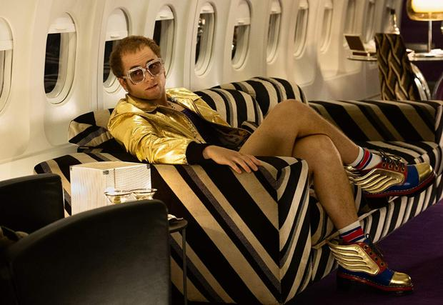Taron Egerton stars in 'Rocketman' which charts the turbulent life of rock star Elton John
