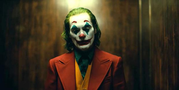 Rescued from jovial anarchy: Joaquin Phoenix as Joker