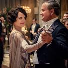 Hugh Bonneville and Elizabeth McGovern star as Lord and Lady Grantham in Downton Abbey