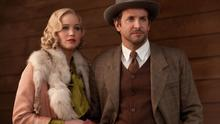 LUMBERED: Jennifer Lawrence and Bradley Cooper in Serena, which suffers from jerky editing and lazy characterisation