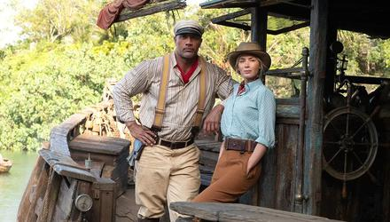 Jungle Cruise feels flat despite the chemistry between The Rock Dwayne Johnson and Emily Blunt