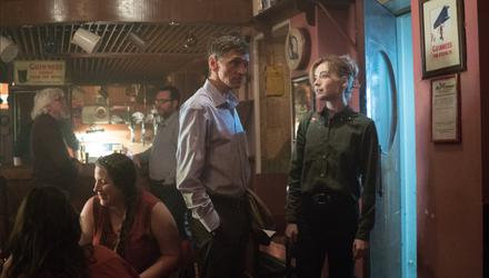 John Hawkes and Sarah Bolger in End of Sentence