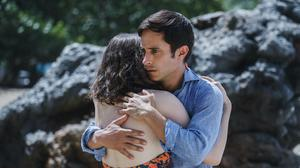 Gael Garcia Bernal is the doomed family's dad in 'Old'