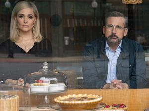 Rose Byrne and Steve Carell star as Washington spin doctors
