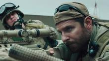 Jaw dropping: Kyle Gallner and Bradley Cooper in American Sniper