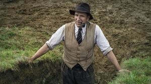The excellent Ralph Fiennes in The Dig