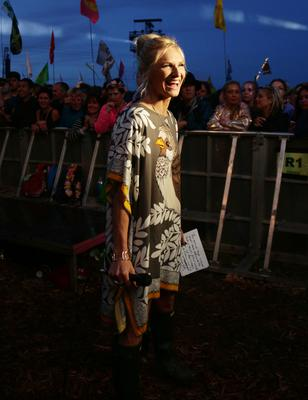 Jo Whiley will host Tea Time Legends on Sunday (Yui Mok/PA)