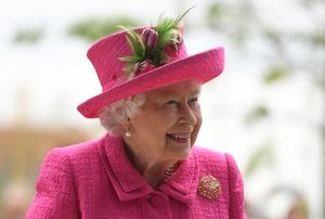 """The Queen is """"a great figure in history"""", Sir Paul McCartney said (Joe Giddens/PA)"""