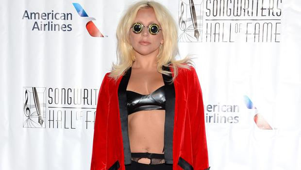 Lady Gaga attends the 46th Annual Songwriters Hall 0f Fame Induction and Awards Gala (AP)