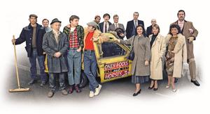 The cast of the musical version of the sitcom (Only Fools And Horses The Musical/PA)