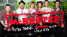 McBusted's Hyde Park show is being made into a film