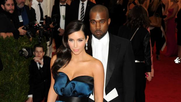 Kanye West questioned if wife Kim Kardashian West would leave him (Dennis Van Tine/PA)