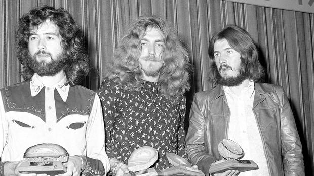 Led Zeppelin beat rock legend contenders such as Metallica, Nirvana and The White Stripes to the top spot