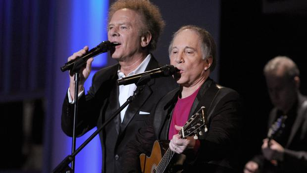 Art Garfunkel and Paul Simon in 2010, the last time the pair performed together