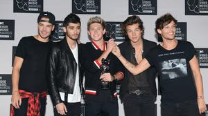 One Direction – originally consisting of Niall Horan, Zayn Malik, Louis Tomlinson, Liam Payne and Harry Styles – were formed 10 years ago (Doug Peters/PA)