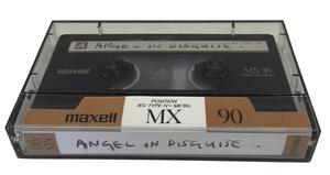 The demo tape going under-the-hammer (Omega Auctions/PA)
