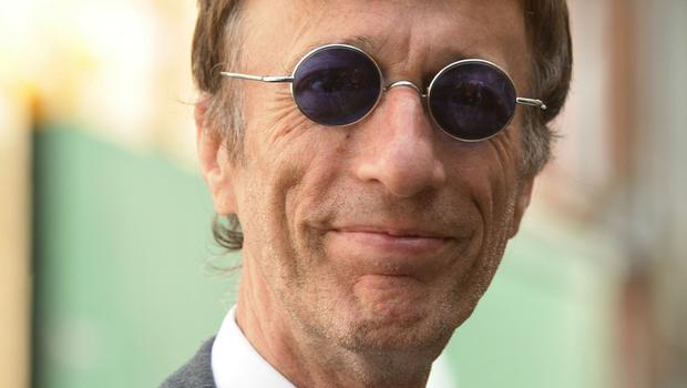 Robin Gibb died of cancer in 2012