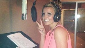 Britney Spears is back in the recording studio (Twitter/Britney Spears)