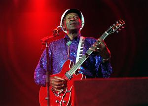 File photo dated 11/07/00 of American rock 'n' roll star Chuck Berry who has died at the age of 90, St Charles County Police Department in Missouri has said.