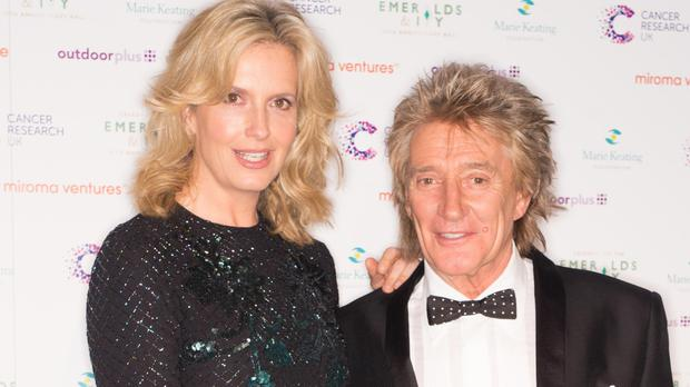 Sir Rod Stewart and Penny Lancaster tied the knot in 2007