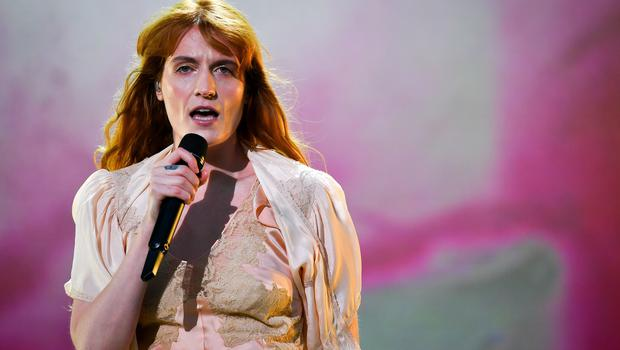 Florence Welch of Florence + The Machine (Ben Birchall/PA)