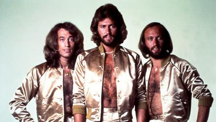 Treasure chest: The Gibb brothers in their disco heyday in 1977