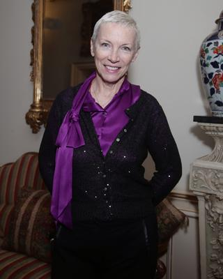 Signed lyrics by Annie Lennox are going under the hammer (Yui Mok/PA)