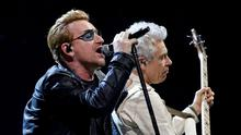 Scaled back: U2 are promising to go on tour again next March