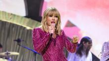 Taylor Swift took aim at Donald Trump as she gathered support for a pro-LGBT law in the US (Matt Crossick/PA)