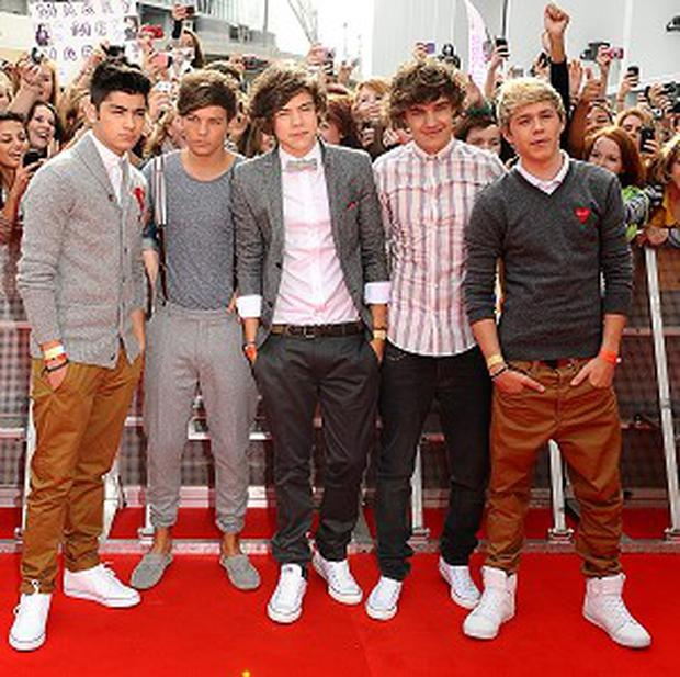 One Direction were big winners at the Social Star Awards