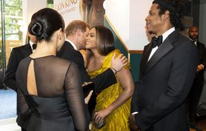 The Sussexes shared a warm meeting with the Carters in 2019 (Niklas Halle'n/PA)