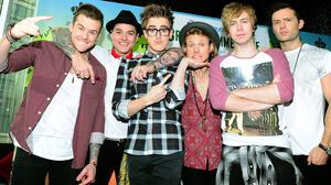 McBusted have been writing songs with Blink-182's Mark Hoppus