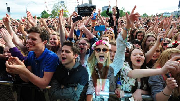 The research looked at the nation's music habits (Mark Runnacles/PA)