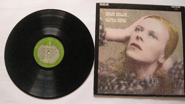 David Bowie's Hunky Dory album was officially released in December 1971 (Catawiki/PA Wire)