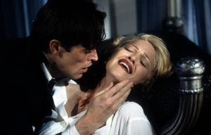 1993: Madonna in the movie 'Body of Evidence' with Willem Dafoe.