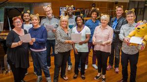 Gareth Malone's All Star Choir for Children in Need are headed to number one