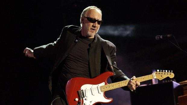 Pete Townshend said he was happy to be a rock dinosaur