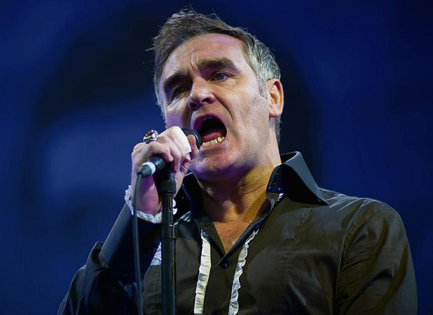 Morrissey claims he has been dropped by his record label