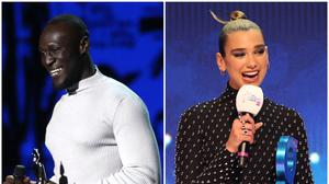 Stormzy and Dua Lipa are shortlisted for this year's Mercury Prize (PA)